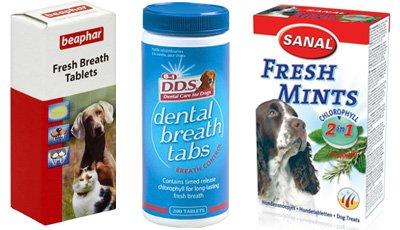 таблетки для освежения собачьего дыхания